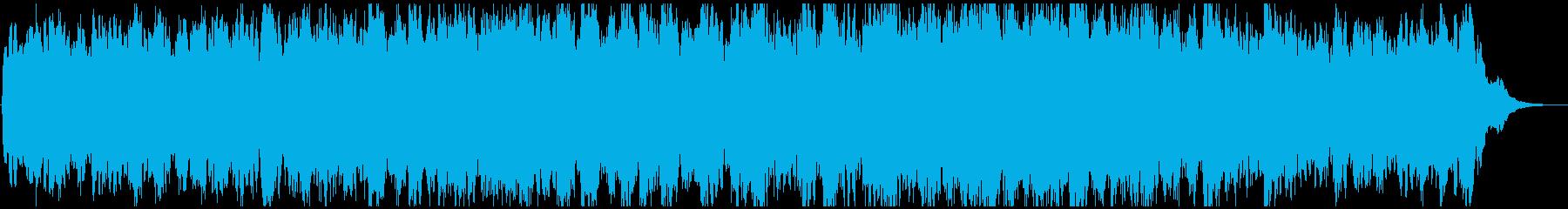 アンビエントミュージック 淡々 悲...の再生済みの波形