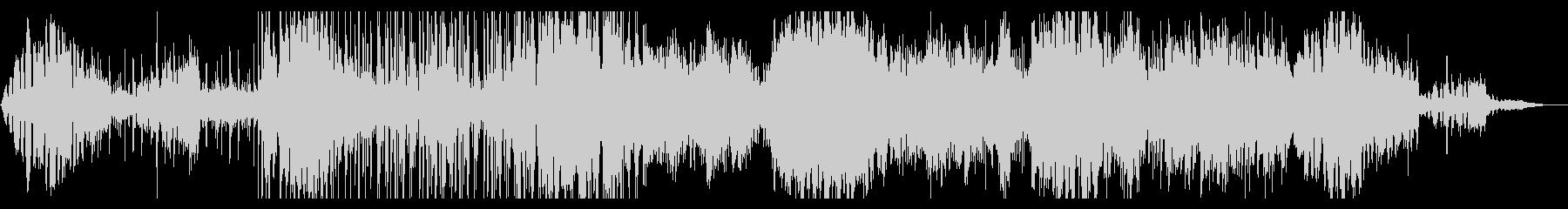 とらえどころのないディープなIDMの未再生の波形