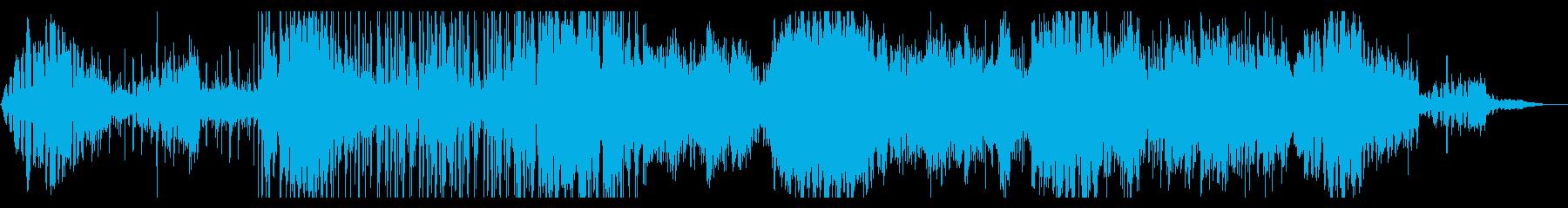 とらえどころのないディープなIDMの再生済みの波形