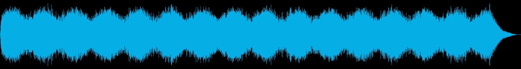 不気味な持続音。不吉な予感。の再生済みの波形