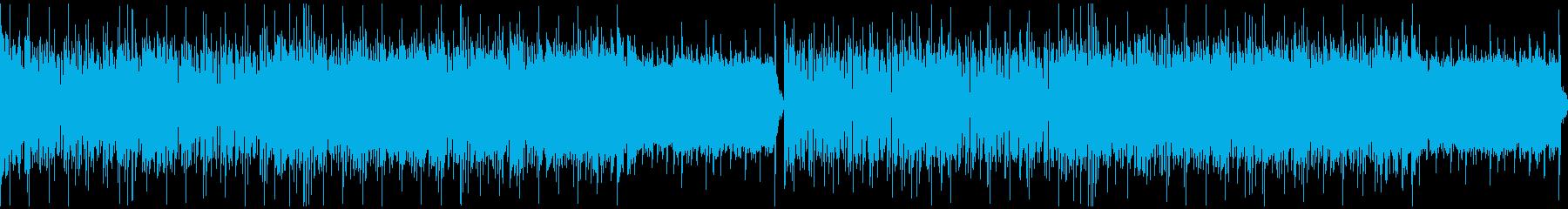 超攻撃的!メタル、ギターリフ、ループ。の再生済みの波形