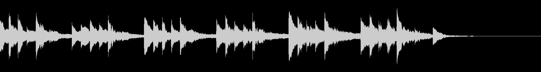 DeepBlueKURAGE30秒ピアノの未再生の波形