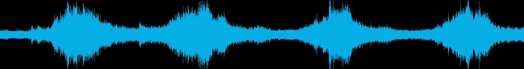 波海クラッシュコーブの再生済みの波形