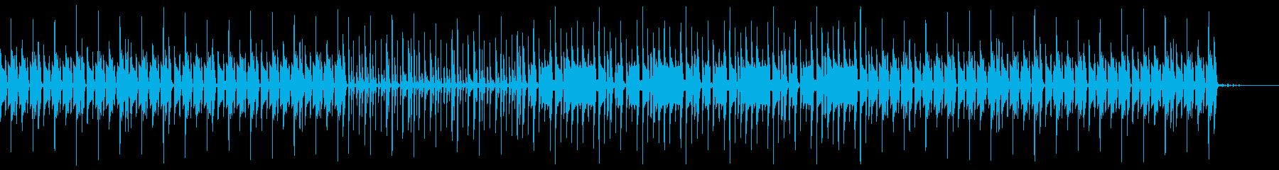 うねるベースラインが効いたレゲエサウンドの再生済みの波形