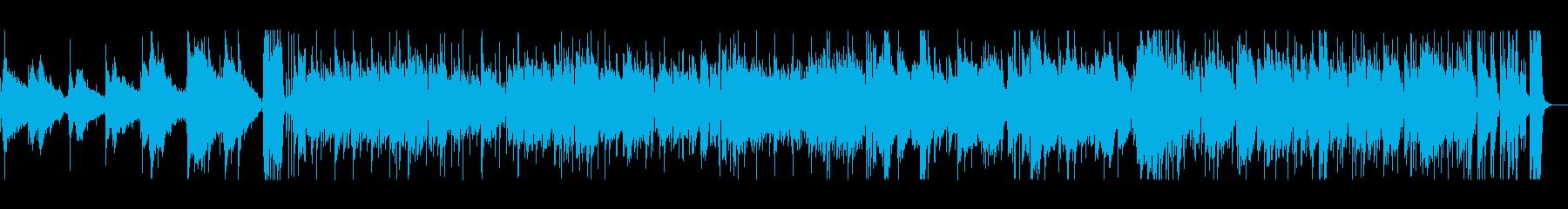 映画に最適な情熱的な曲の再生済みの波形