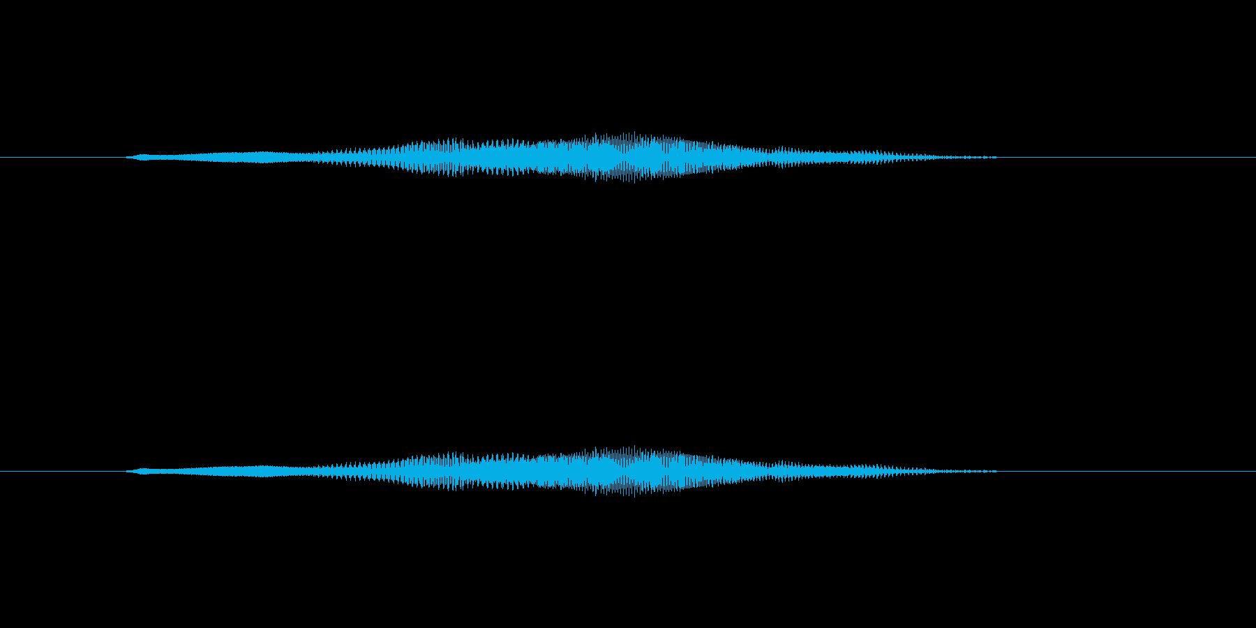 ニャー_猫声-13の再生済みの波形