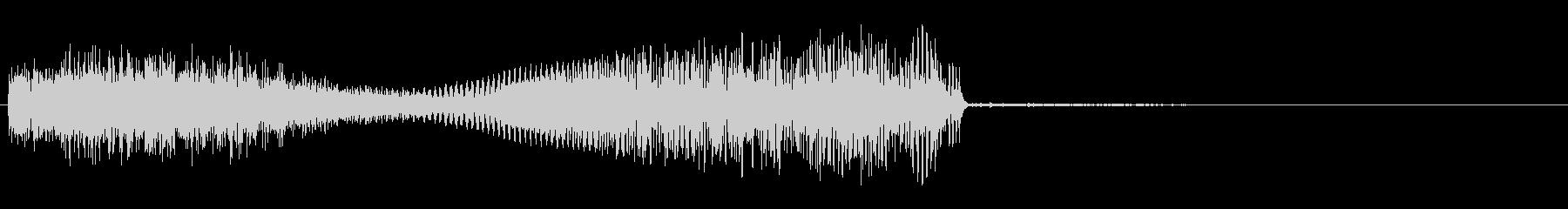 パワーヒットスイープの未再生の波形