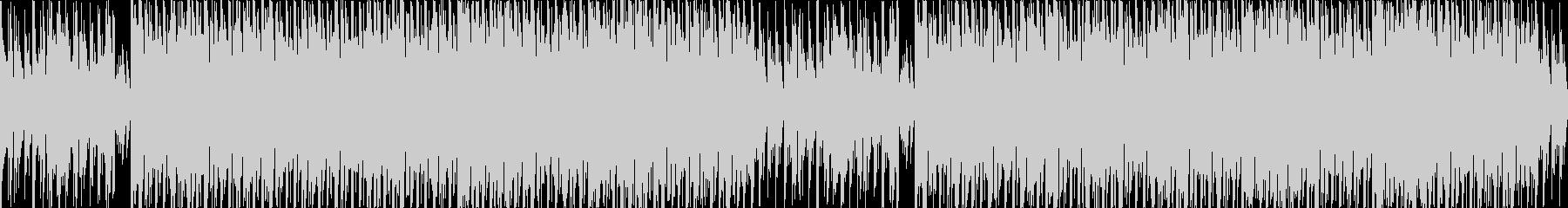 かわいいベルうきうきポップな日常ループcの未再生の波形