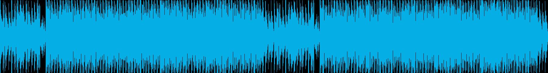 かわいいベルうきうきポップな日常ループcの再生済みの波形