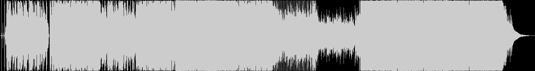 【生バンド演奏】泣きメロのピアノバラードの未再生の波形