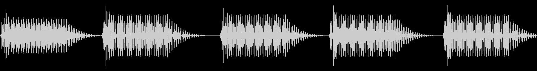 往年のRPG風 セリフ・吹き出し音 6の未再生の波形