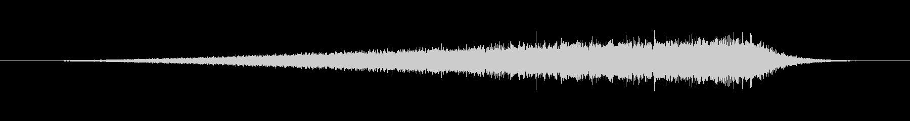 SWELL ウィンドウェーブ01の未再生の波形