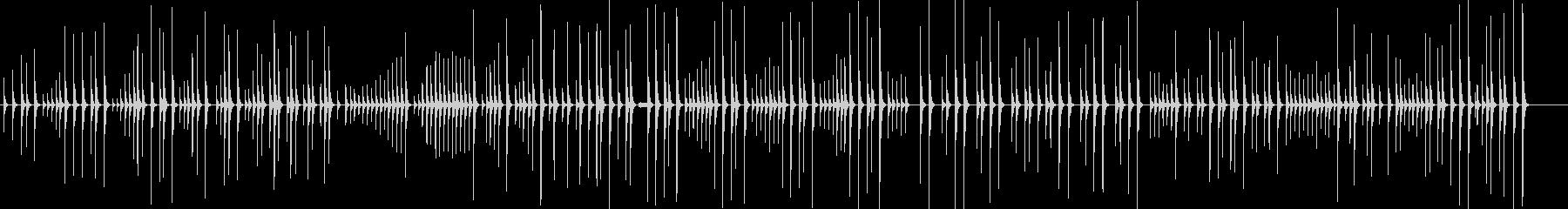 大皮(大皷)ソロの未再生の波形