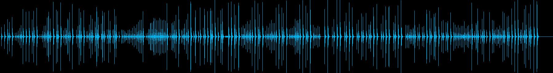 大皮(大皷)ソロの再生済みの波形