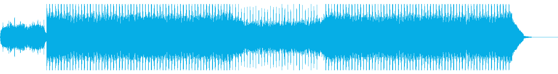 フューチャー感、4つ打ち、CM、ニュースの再生済みの波形