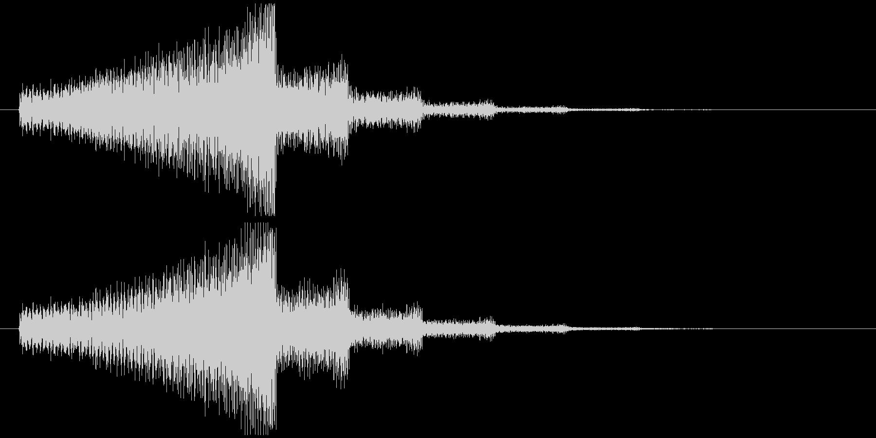 エレキギター(シリアス効果音)の未再生の波形