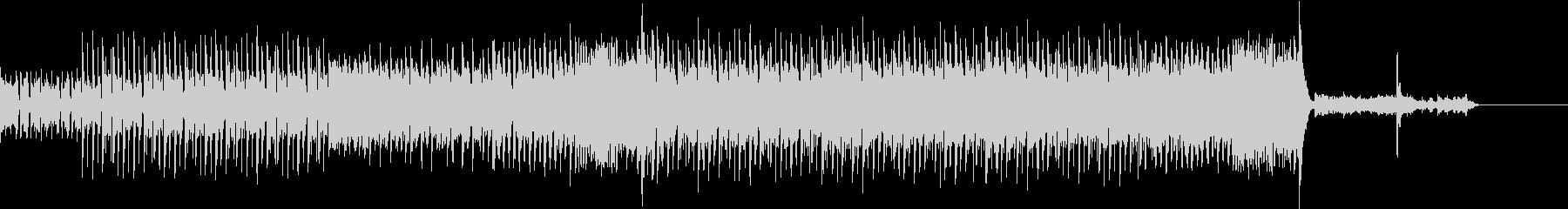 ミステリアスなEDMロックの未再生の波形