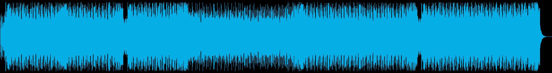 モチベーションの上がるEDM 声無しの再生済みの波形