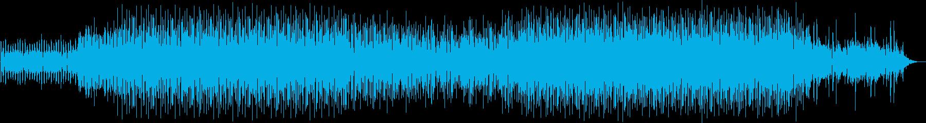 ドライブ感と広がりのあるテクノの再生済みの波形