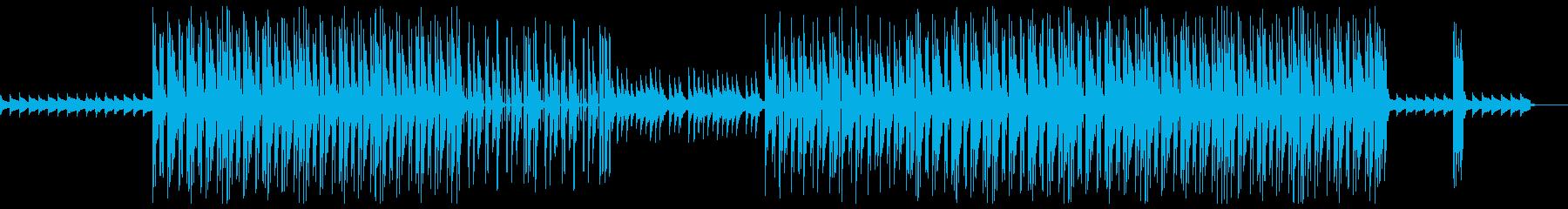 レトロ 切ない 哀愁 トラップビートの再生済みの波形
