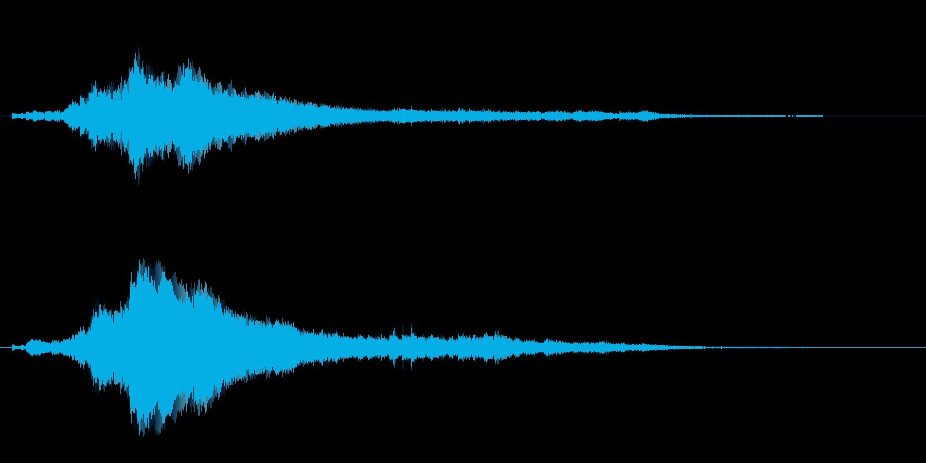 キラーン(キラキラした雰囲気)の再生済みの波形