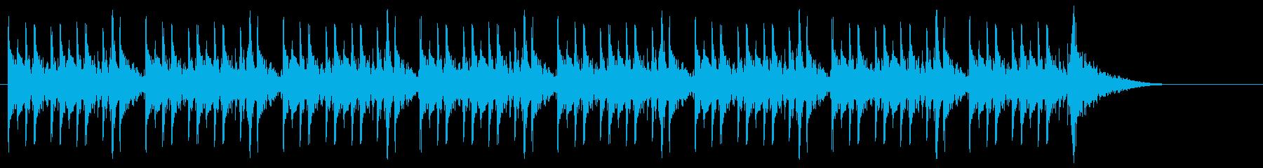 太鼓BGMシネマティック戦闘ゲームCM2の再生済みの波形
