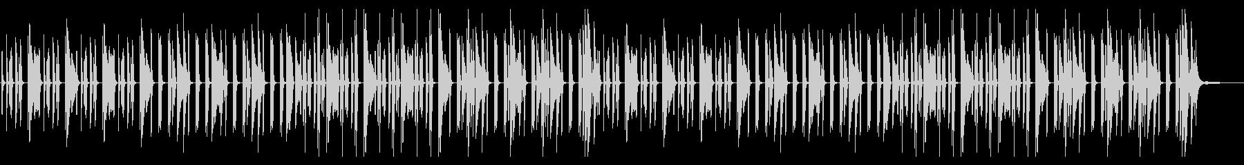 YouTube ピアノソロ・日常・料理の未再生の波形