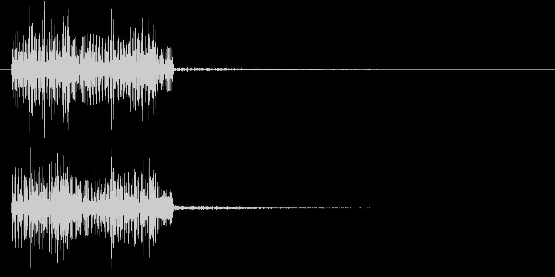パワーダウン等 ネガティブな音の未再生の波形