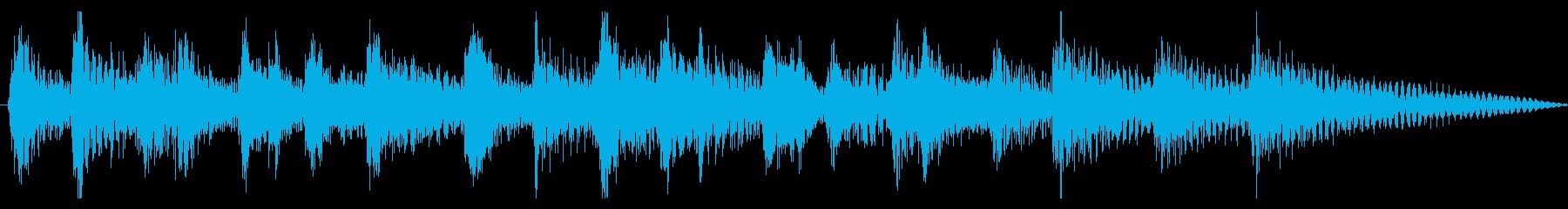 ボサノバ・ジングル・場面転換などにの再生済みの波形