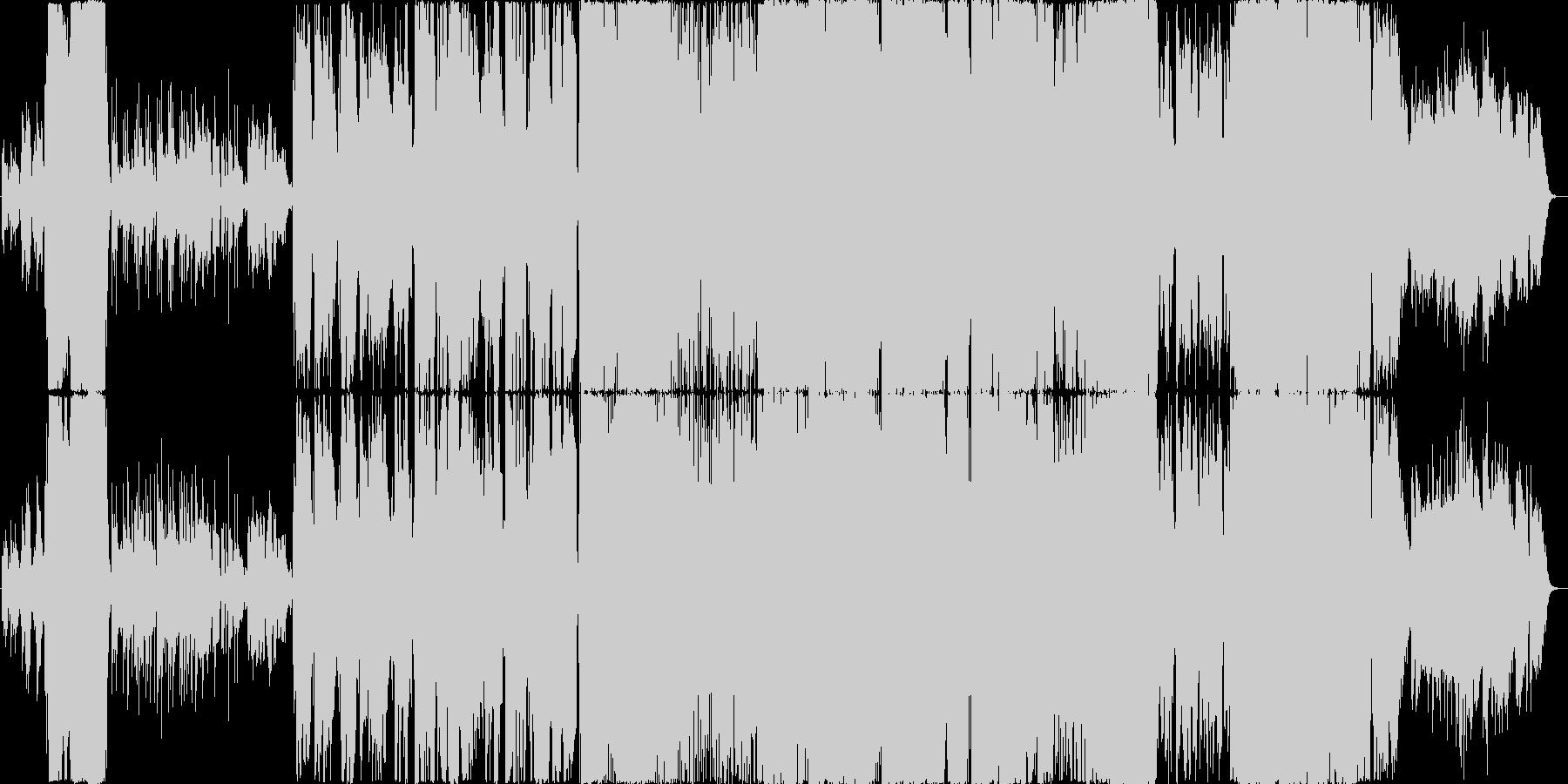 壮大なオーケストラアレンジのJ-POPの未再生の波形