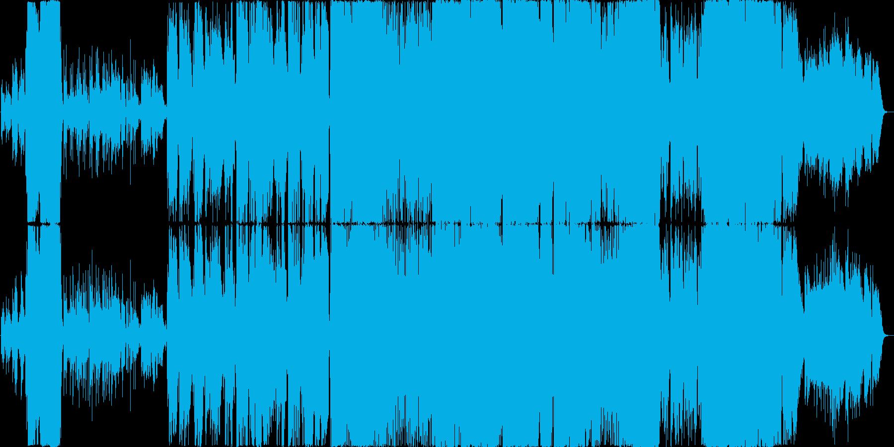 壮大なオーケストラアレンジのJ-POPの再生済みの波形