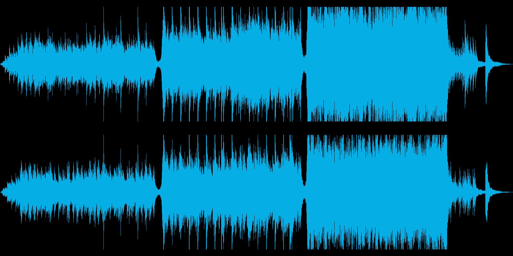 現代の交響曲 企業イメージ ポジテ...の再生済みの波形