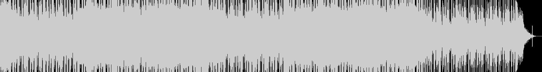 ストリングスが動き回るミステリアスな楽曲の未再生の波形