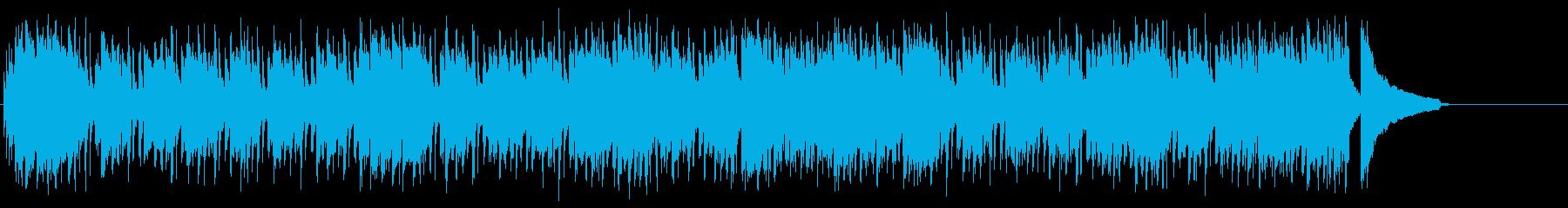オープニング向き爽快ストレート・ポップスの再生済みの波形