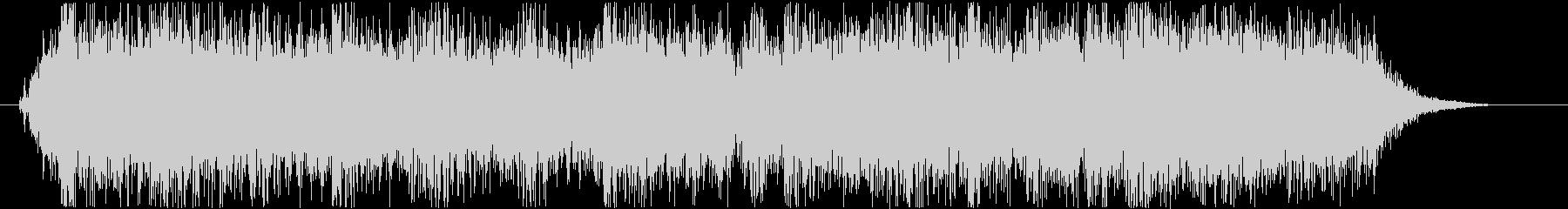 ロックバンドショートジングル003の未再生の波形
