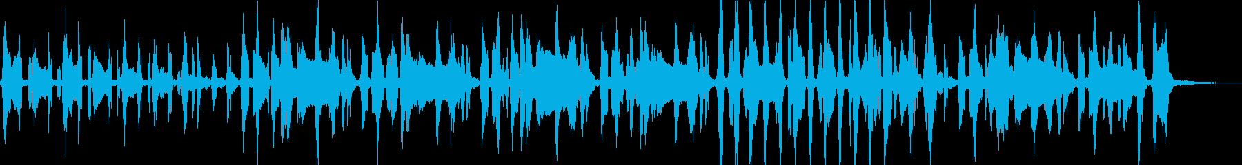 レタスをテーマにした楽曲の再生済みの波形