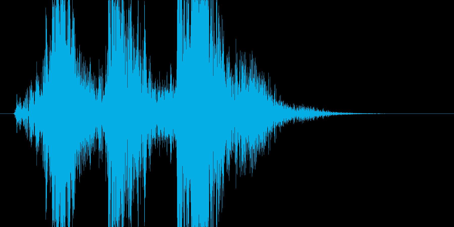 【ムチ/ウィップ攻撃】ビシィイン!の再生済みの波形