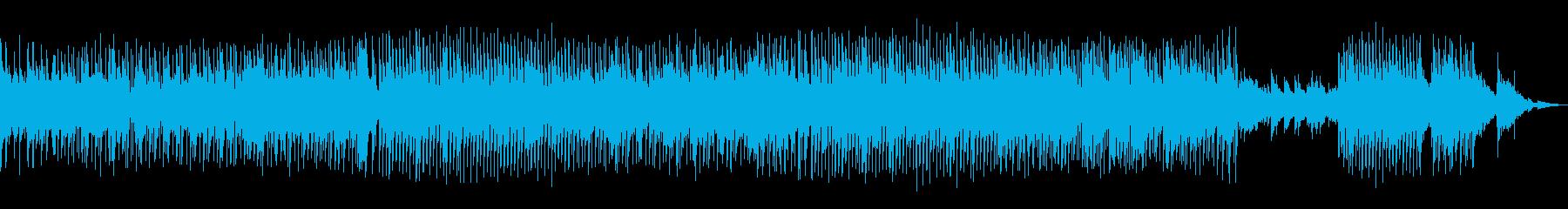 キュートなイメージの楽曲です。の再生済みの波形