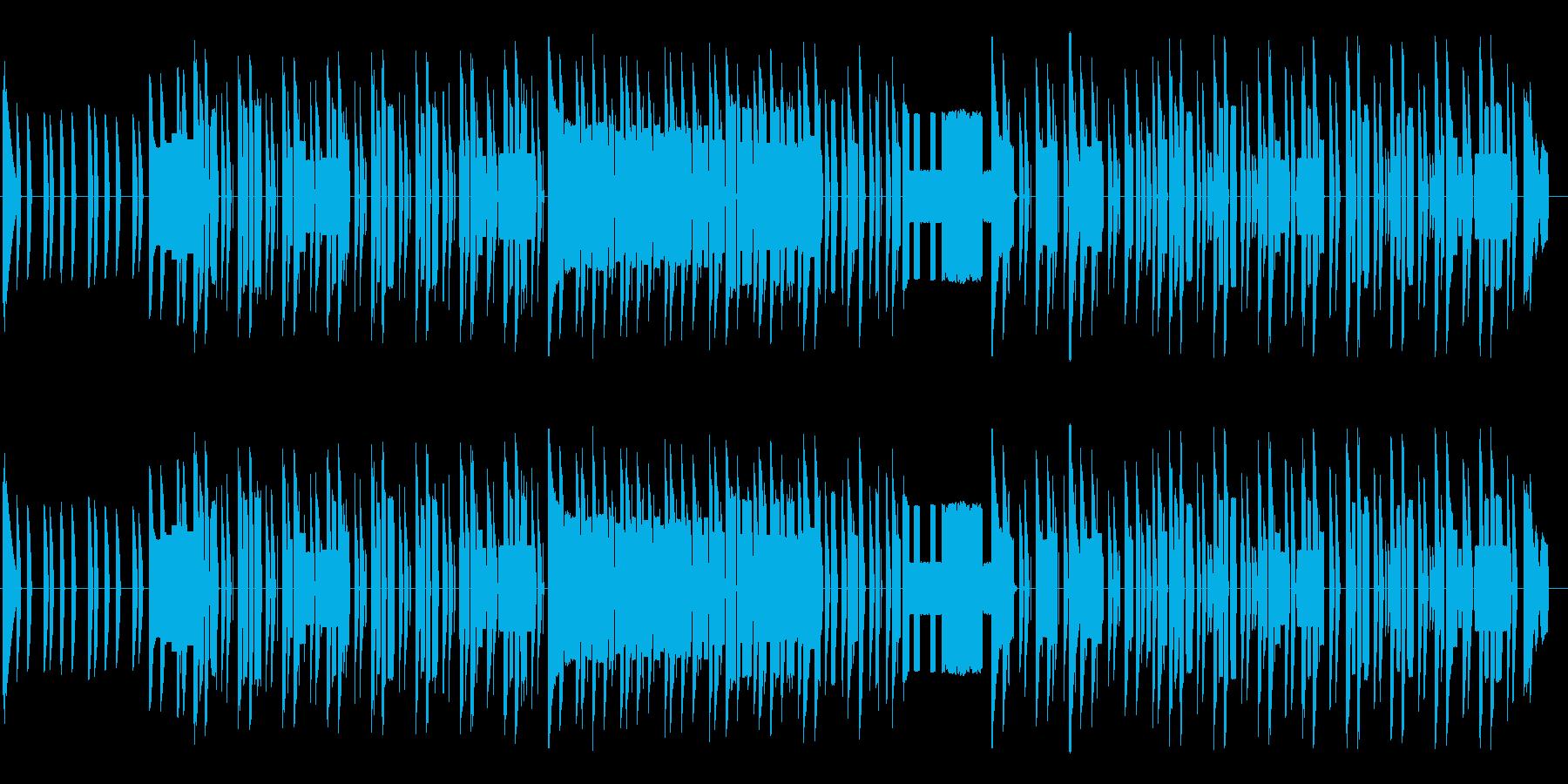 ★ファミコン風 癖になるリズムの音芸の再生済みの波形