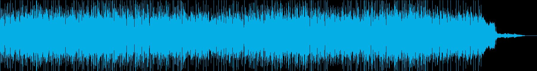 70年代アメリカンポップスのような曲の再生済みの波形