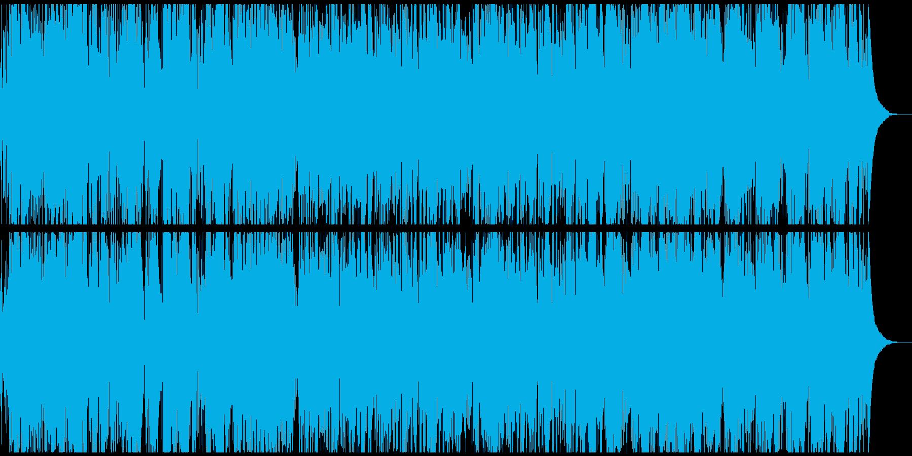 【生演奏】おしゃれな大人のジャズサンバの再生済みの波形