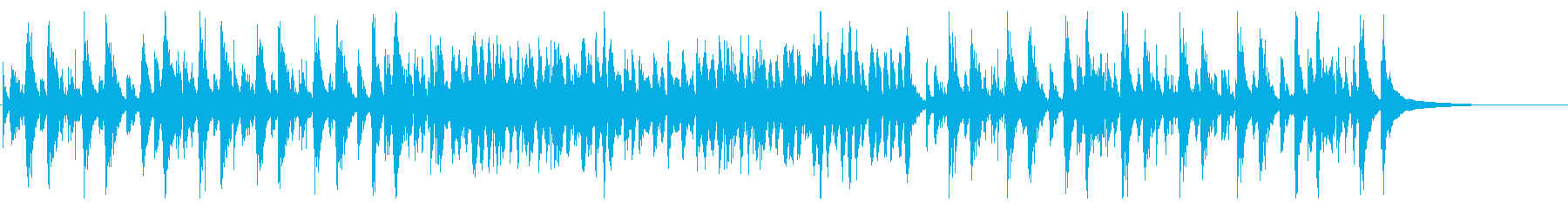 ピチカートで奏でる陽気なジャズBGMの再生済みの波形