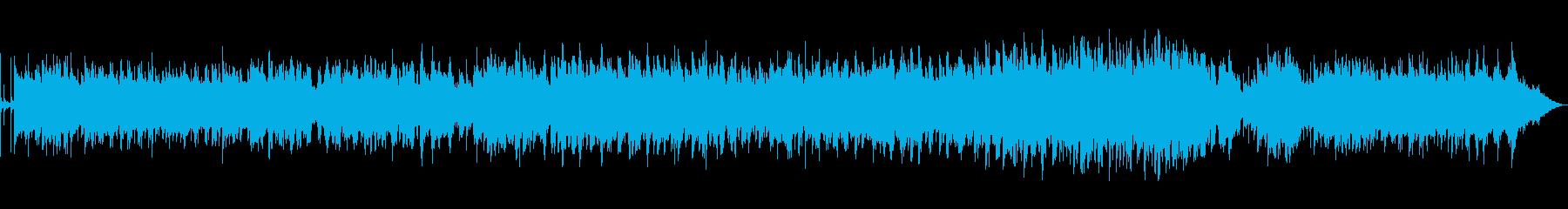 エンディングでなれる様なミディアムポップの再生済みの波形
