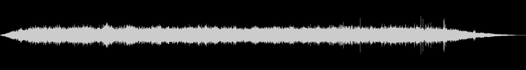 海 波 浜辺 海岸 カモメの環境音 15の未再生の波形