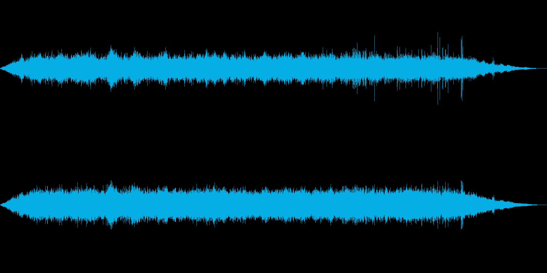 海 波 浜辺 海岸 カモメの環境音 15の再生済みの波形
