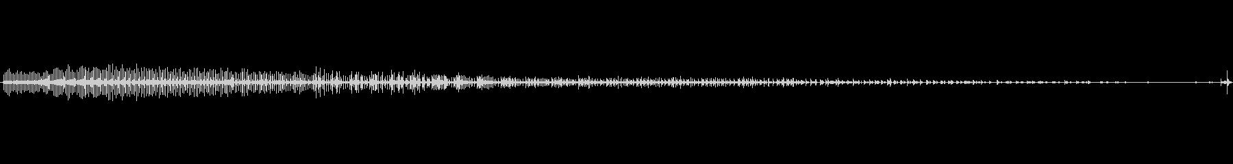 自転車 スピンホイールスポークラトル04の未再生の波形
