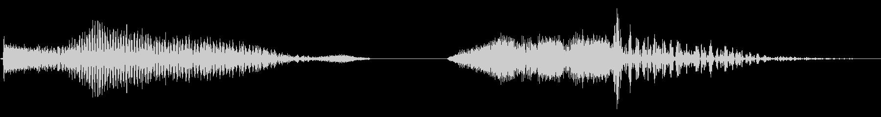モーターキャニオン、メタルスラップ...の未再生の波形