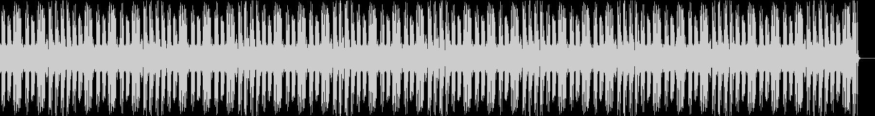軽快なピアノソロでガーシュインの名曲の未再生の波形