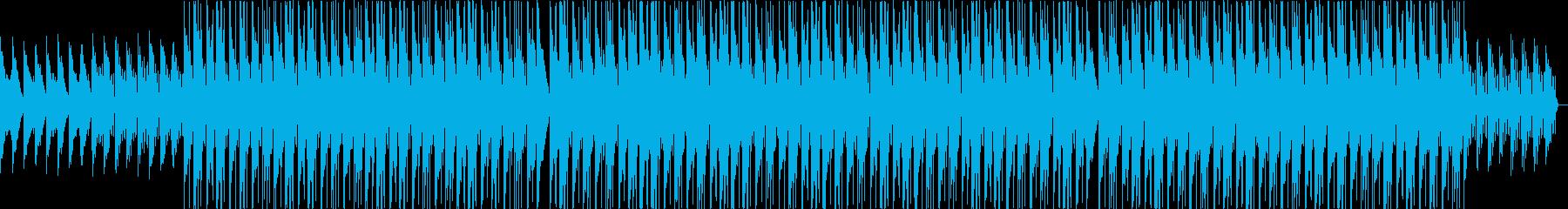 ムーディー・チルアウト・落ち込んだ・夜の再生済みの波形