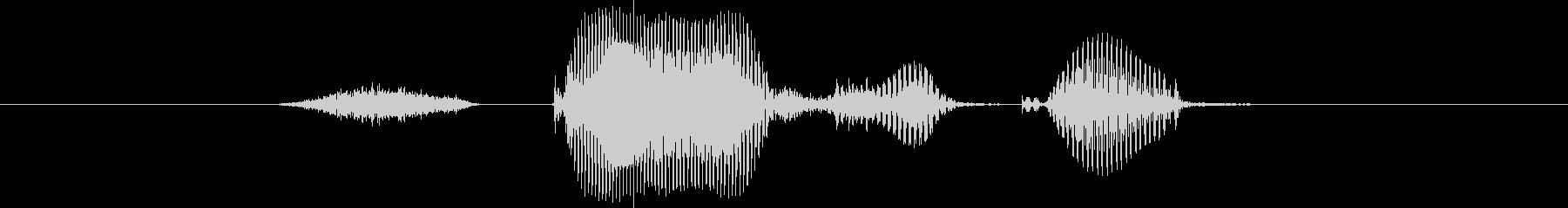 ステージ5(ご)の未再生の波形